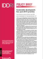Développement durable : quatre priorités pour l'après-2015