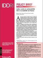 Lutter contre la vulnérabilité liée à la mobilité en France