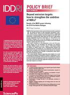Beyond emission targets: how to strengthen the ambition of NDCs?