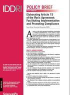 Définir les contours de l'article 15 de l'Accord de Paris : faciliter la mise en œuvre et promouvoir le respect des dispositions