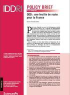 ODD: une feuille de route pour la France