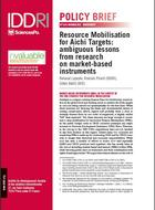 Resource Mobilisation for Aichi Targets: ambiguous lessons from research on market-based instruments