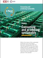 Consuming and producing sustainably