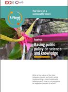 Basing public policy on science and knowledge