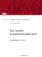 Eau : encadrer les partenariats public-privé