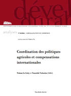 Coordination des politiques agricoles et compensations internationales
