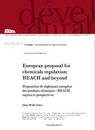 European proposal for chemicals regulation: REACH and beyond