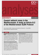 Coastal setback zones in the Mediterranean: A study on Article 8-2 of the Mediterranean ICZM Protocol