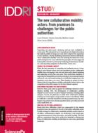Les nouveaux acteurs de la mobilité collaborative: des promesses aux enjeux pour les pouvoirs publics