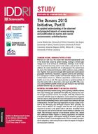 The Oceans 2015 Initiative, Part II An updated understanding of the observed and projected impacts of ocean warming and acidification on marine and coastal socioeconomic activities/sectors
