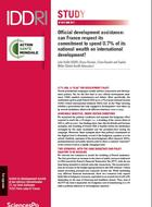 Official development assistance: can France respect its commitment to dedicate 0.7% of national wealth to developing countries?