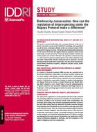 Biodiversity conservation: How can the regulation of bioprospecting under the Nagoya Protocol make a difference?