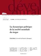 La dynamique politique de la société mondiale du risque