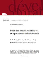 Pour une protection efficace et équitable de la biodiversité