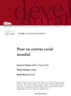 Pour un contrat social mondial