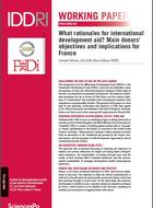 What rationales for ODA? Main donors' objectives and implications for France