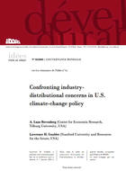 Confronting industry-distributional concerns in US climate-change policy