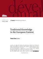 Traditionnal knowledge in the European context
