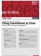 Post-2012 Climate Change Agreement: Fitting Commitments by Cities