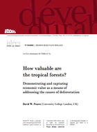How valuable are the tropical forests?