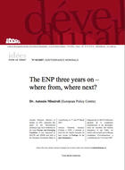 The ENP three years on - where from, where next?