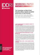 The Committee on World Food Security reform: impacts on global governance of food security