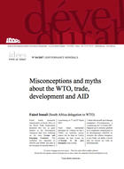 Misconceptions and myths about the WTO, trade, development and AID