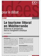 Le tourisme littoral en Méditerranée. Tendances et perspectives face au changement climatique
