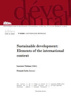 Sustainable development: elements of the international context