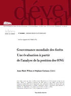 Gouvernance mondiale des forêts. Une évaluation à partir de l'analyse de la position des ONG