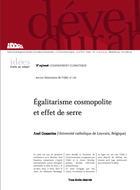 Egalitarisme cosmopolite et effet de serre