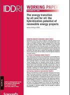 La transition énergétique par tous et pour tous: quel potentiel d'hybridation pour les projets d'énergies renouvelables?