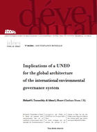 Implications of a UNEO for the global architecture of the international environmental governance system