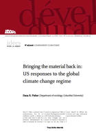 Bringing the material back in: United States responses to the global climate change regime