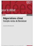 Négociations climat : Compte-rendu de la conférence de Barcelone (2-6 nov. 2009)