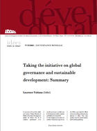 Taking the initiative on global governance and sustainable development