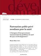 Partenariats public-privé mondiaux pour la santé