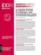 La rénovation thermique des bâtiments en France et en Allemagne: quels enseignements pour le débat sur la transition énergétique?