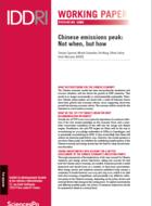 Pic des émissions en Chine: au-delà du calendrier, quelle méthode et quel objectif?