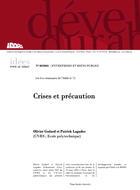 Crises et précaution