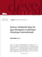 Secteur résidentiel dans les pays émergents et politique climatique internationale