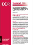 Indicateurs clés pour évaluer les stratégies de décarbonation de l'Union européenne à l'horizon 2030