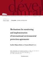 Mécanismes internationaux de suivi et mise en oeuvre des conventions internationales de protection de l'environnement