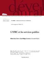 L'OMC et les services publics