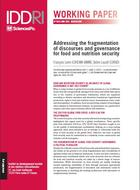 Addressing the fragmentation of discourses and governance for food and nutrition security