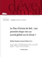 Le Plan d'Action de Bali : une première étape vers un accord global sur le climat ?
