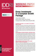Green investments in a European Growth Package
