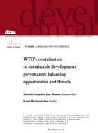 WTO's contribution to sustainable development governance: balancing opportunities and threats