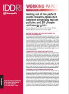 Getting out of the perfect storm: towards coherence between electricity market policies and EU climate and energy goals