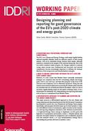 Designing planning and reporting for good governance of the EU's post-2020 climate and energy goals
